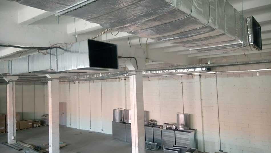 Припливно-витяжна вентиляція заводу
